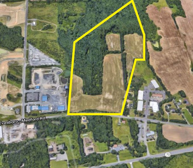 Sale of 56 Acres for Residential Development, Medford, NJ